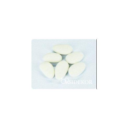 Cukrozott mandula, fehér