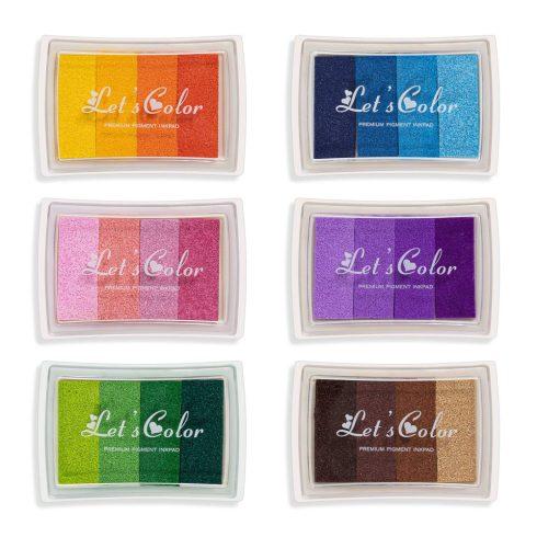Tintapárna ujjlenyomatfához több színben