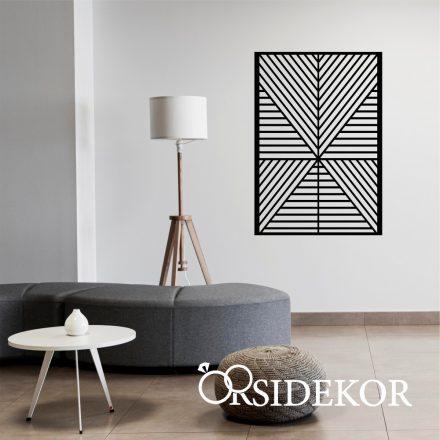 Skandináv stílusú falikép fából