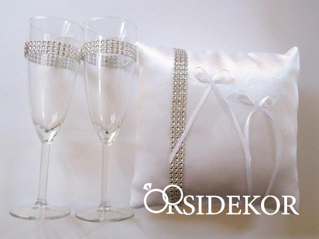 fdac12479a esküvői szett , esküvői pezsgős pohár - Orsi Dekor - Esküvői ...
