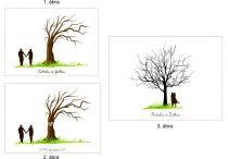 Ujjlenyomatfa, színes