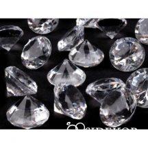 Dekorgyémánt, áttetsző dekorkövek - 18 mm, nagy