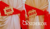 Mr & Mrs táblácska