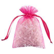Organza zsákocska, pink