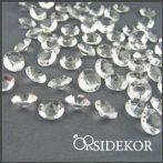 Dekorgyémánt, áttetsző - 10 mm