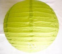 Lampion gömb, zöld