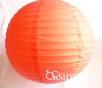 Lampion gömb, narancs