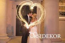 Csillagszóró esküvőre 40 cm