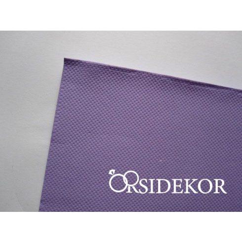 Textilhatású szalvéta, lila