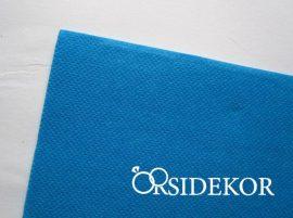 Textilhatású szalvéta, türkiz