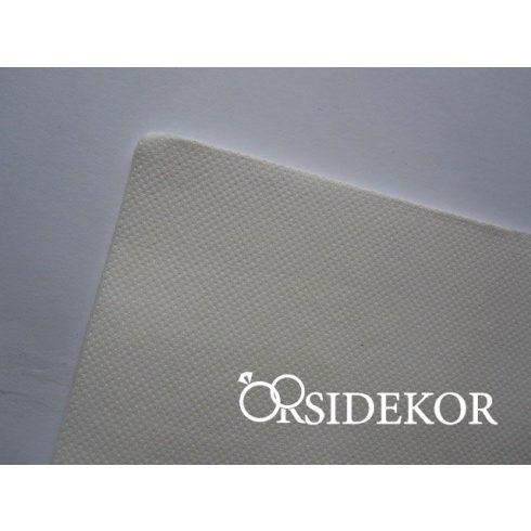 Textilhatású szalvéta, fehér