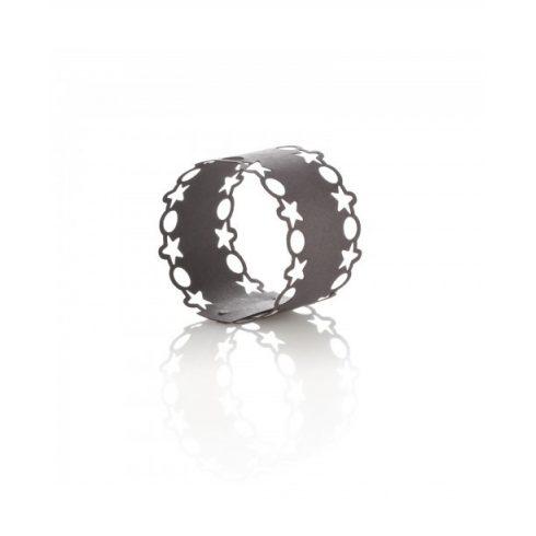 Lézervágott  szalvétagyűrű