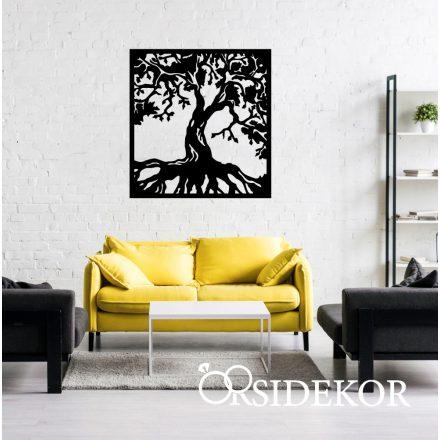 Életfa falikép fából