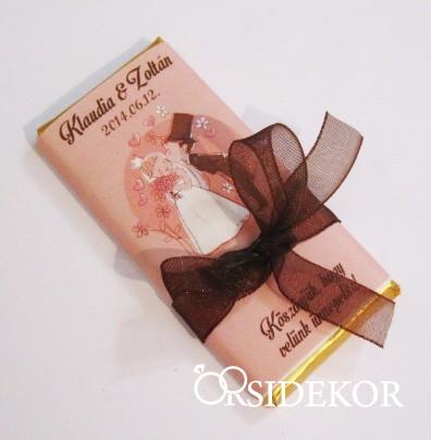 Köszönetajándék csoki masnival átkötve ac9cb9a644