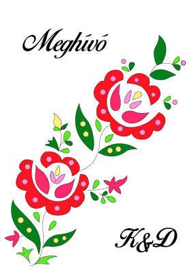28 minta - magyar meghívó