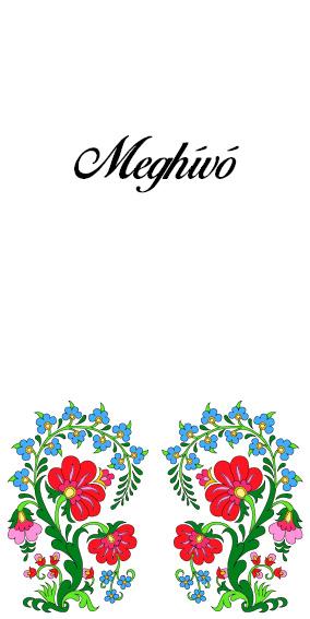 26 minta - magyar meghívó