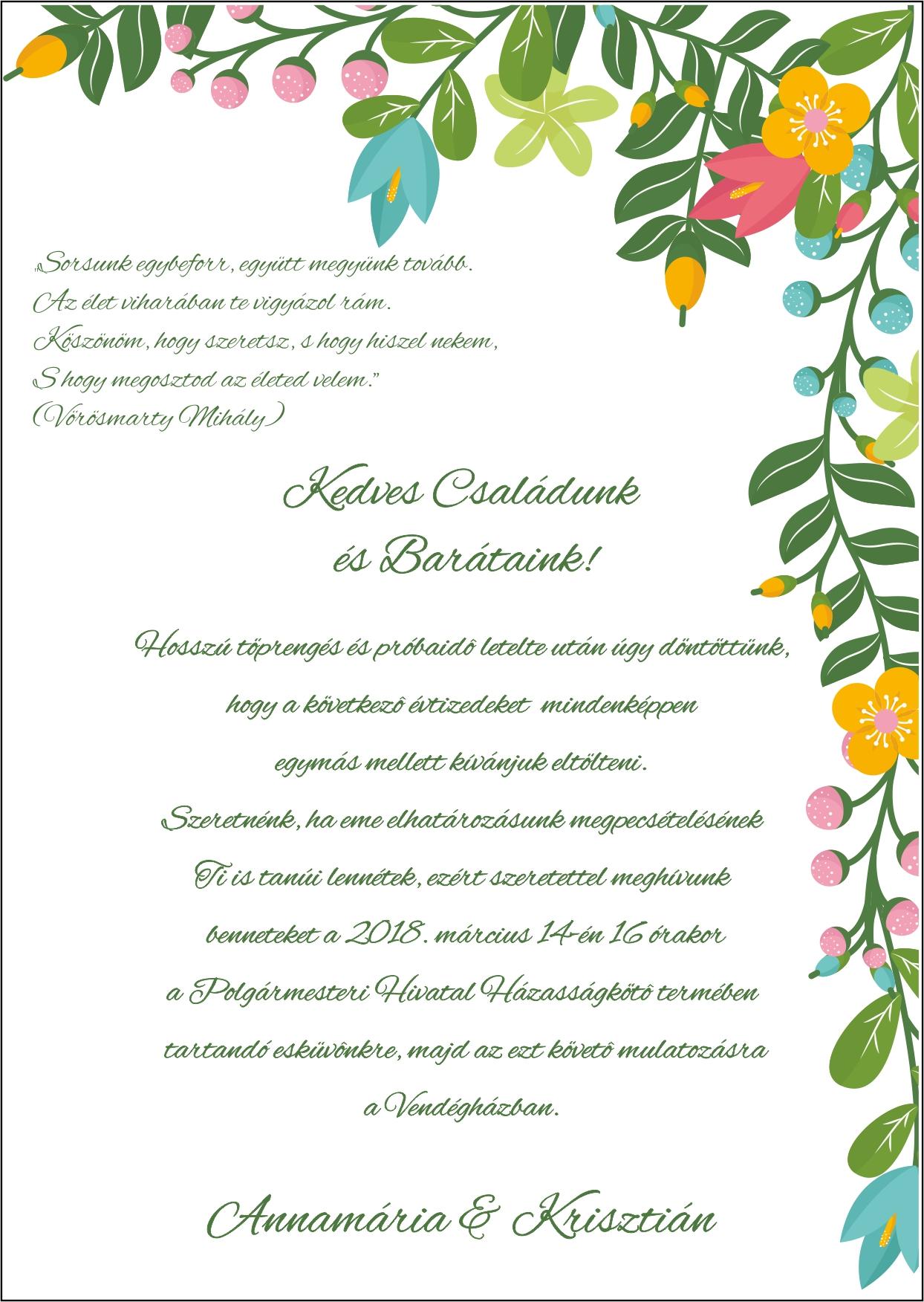 142 minta - tekercses esküvői meghívó