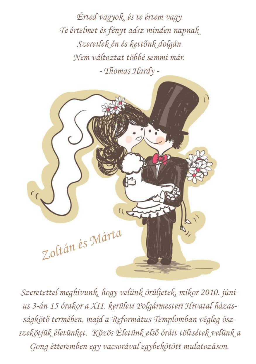 20 minta - tekercses esküvői meghívó